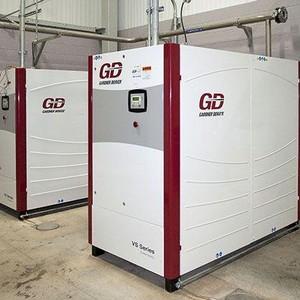 Aluguel de compressor de ar industrial parafuso