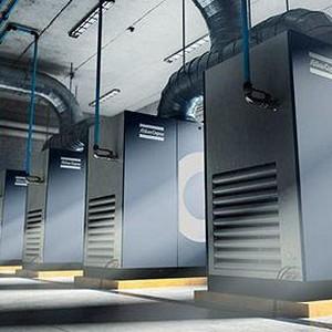 Aluguel de compressor de ar parafuso Atlas Copco