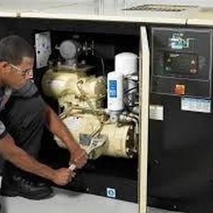 Conserto de compressor de ar em MG